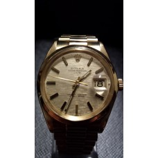 SOLD  VINTAGE ROLEX OYSTER PERPETUAL 18ct GOLD