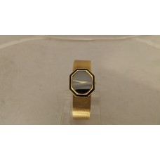 18ct GOLD PIAGET WITH BLACK ONYX
