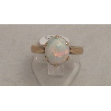 18ct GOLD OPAL RING