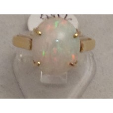 18ct GOLD, OPAL RING