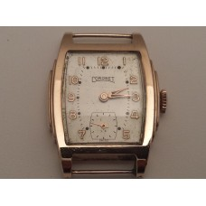 VINTAGE 9ct GOLD WATCH