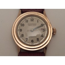 SOLD  VINTAGE 9ct GOLD WATCH