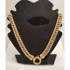 18ct GOLD HEAVY NECKLACE