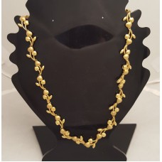 SOLD  22ct GOLD FANCY NECKLACE
