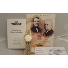 SOLD  TISSOT 18ct GOLD and DIAMONDS LADIES WATCH