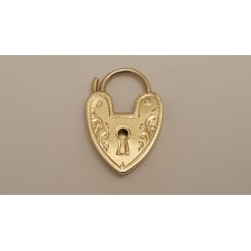 18ct GOLD HEART CATCH