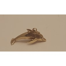 9ct GOLD DOLPHIN