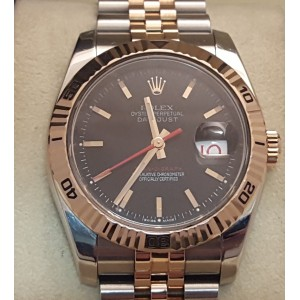 Rolex 116261 Rose Gold Turn-O-Graph DateJust