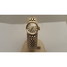 9ct GOLD ROTARY SWISS LADIES MECHANICAL WATCH