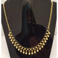 SOLD  24ct GOLD NECKLACE