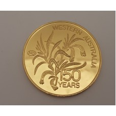 WESTERN AUSTRALIAN 150 YEARS GOLD COIN
