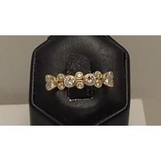 SOLD  18ct GOLD DIAMOND RING