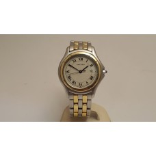 SOLD  CARTIER 18ct GOLD & STAINLESS STEEL Panthere Cougar