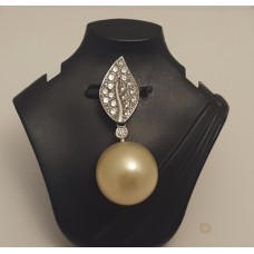 SOLD  GOLDEN SOUTH SEA CULTURED PEARL