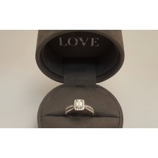 "SOLD  VERA WANG ""LOVE"" COLLECTION DIAMOND RING"