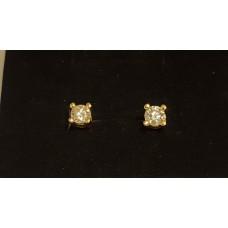 SOLD  1ct T.W. DIAMOND EARRINGS