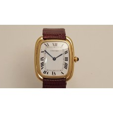 SOLD  CARTIER VINTAGE 18ct GOLD WATCH