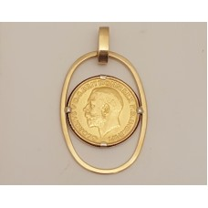 SOLD  ENGLISH SOVEREIGN PENDANT