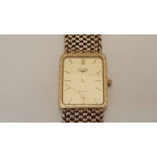 VINTAGE LONGINES 9ct GOLD WATCH