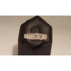 SOLD  18ct WHITE GOLD, 1ct of DIAMONDS