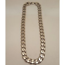 SOLD  HEAVY SILVER CHAIN
