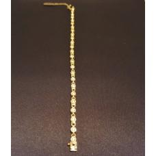 SOLD  1.25ct DIAMOND BRACELET