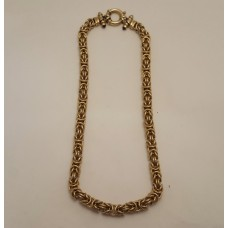 SOLD  FANCY 9ct GOLD CHAIN