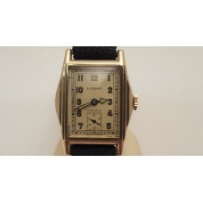 LAVINA VINTAGE 9CT GOLD WATCH