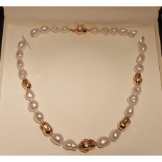 SOLD  KESHI PEARL NECKLACE