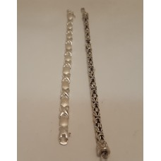2 of OUR SILVER BRACELETS