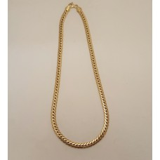 SOLD  ITALIAN MADE 18ct GOLD NECKLACE