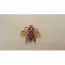 """SOLD  22ct GOLD & RUBY """"LUCKY CRICKET"""""""