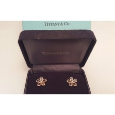 "SOLD  TIFFANY ""SPARKLERS"" AMETHYST & DIAMOND EARRINGS"