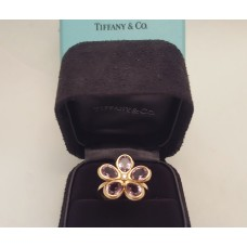 "TIFFANY ""SPARKLERS"" AMETHYST & DIAMOND in 18CT ROSE GOLD"