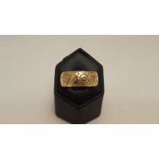 SOLD  ANTIQUE 18ct GOLD RING