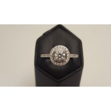 .70ct DIAMOND HALO RING