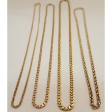 SOME of our 9ct GOLD CHAINS