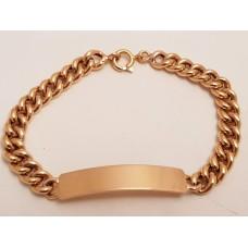 18ct GOLD I.D. BRACELET