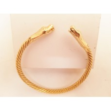 22ct GOLD SNAKE BANGLE