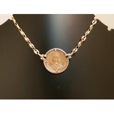 SOLD  GOLD SOVEREIGN PENDANT & CHAIN
