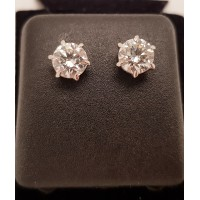 2.29ct DIAMOND EARRINGS
