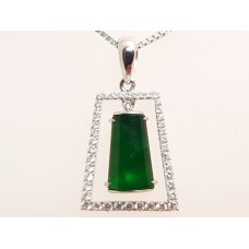 SOLD  TYPE A JADE PENDANT