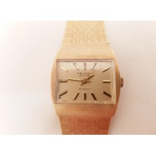 14ct GOLD PRIOSA MECHANICAL WATCH