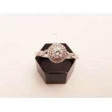 F, SI2, G.I.A. CERTIFIED DIAMOND