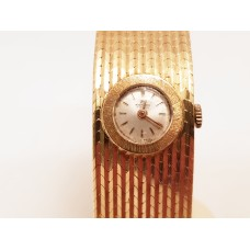 18ct GOLD, VINTAGE LADIES BUCHERER WATCH