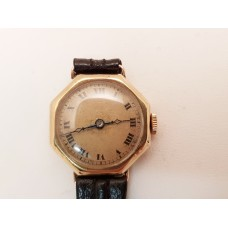 VINTAGE - 1930'S, 18ct GOLD LADIES WATCH