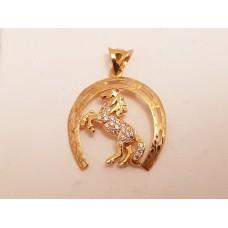 22ct GOLD HORSE PENDANT