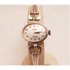 SOLD  VINTAGE DORLEY SILVER WATCH