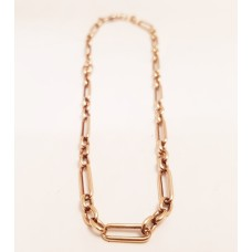 9ct GOLD FOB CHAIN