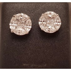 2.50ct T.W. DIAMOND EARRINGS